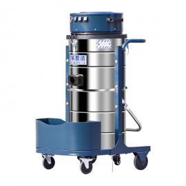 乐普洁LP3690三马达真空工业吸尘机固液汇合吸抽收集分离吸尘器