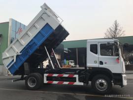 东风d9对接垃圾转运车