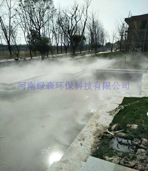 景区雾森系统-游乐场喷雾景观-喷雾降温设备