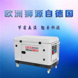 水冷15千瓦欧洲狮柴油发电机
