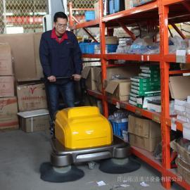 昆山工厂用电动扫地机明诺MN-P100A扫地机报价品牌清扫机