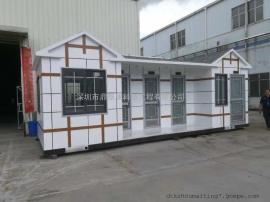 全国生产商环保厕所生产专线加工厂 环保厕所来图大生产