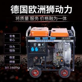 250A柴油电焊机,发电电焊一体机
