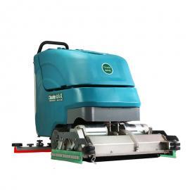自驱式手推式洗扫一体机|滚刷的洗扫一体机|手推加压地面擦地机