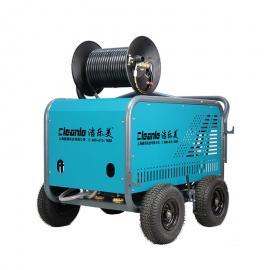 洁乐美ST2041ET电动管道清洗机380V工地洗车机高压管道疏通机