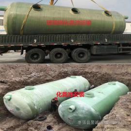 资讯:地埋式玻璃钢化粪池 污水化粪池 模压玻璃钢化粪池