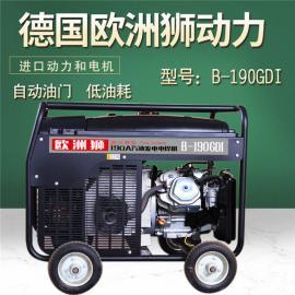 移动式190A单相发电电焊机