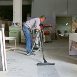 家具厂用强力工业吸尘器3600W吸木屑粉尘洁乐美GS-3616吸水机