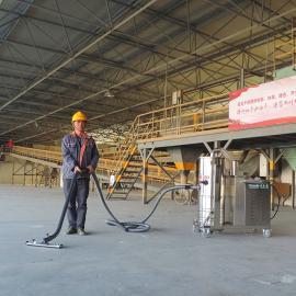 海螺水泥厂吸尘器7.5KW大功率工业吸尘器GS-7510B吸水泥粉尘专用