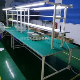 防静电工作台操作台流水线维修台打包桌车间工作台装配生产线