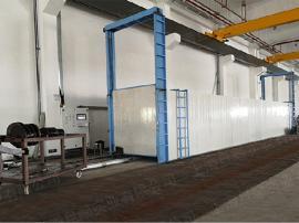 设备运行状态清晰可视 玻璃钢格栅通道式烘箱 大型联网固化烘箱