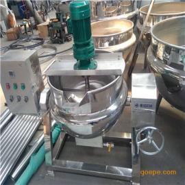牛板筋蒸煮夹层锅 搅拌夹层锅 蒸汽夹层锅