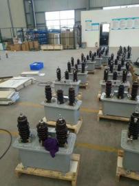安装在户外柱上10KV油浸式高压计量箱JLS-10