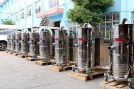 GS-4010B钢铸车间用380V工业吸尘器吸铸屑铁削旋风分离器100L