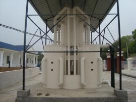 一体化重力式无阀曝气精滤设备|水上乐园水处理设备