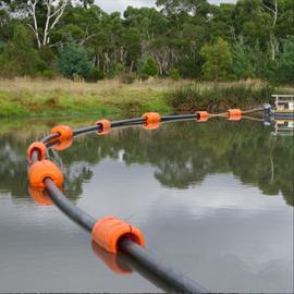 水上工程夹管道浮体 漂浮水面抽沙管道浮漂介绍