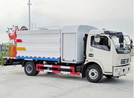 9吨抑尘车、降尘除霾带雾炮洒水车、净化空气