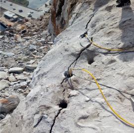 石料厂静态碎石劈裂棒