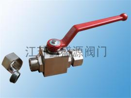CNG压缩天然气卡套式高压球阀