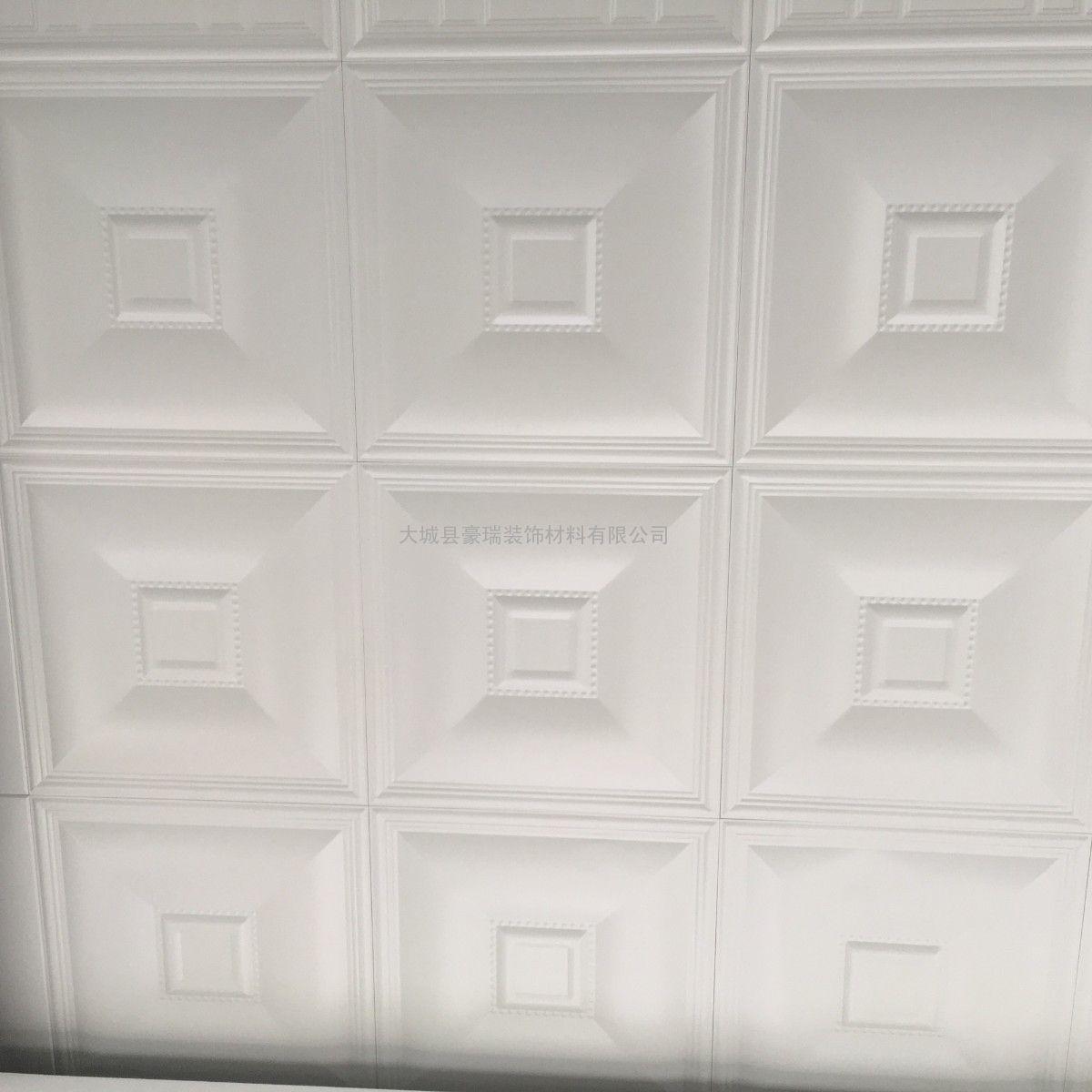 豪瑞铝扣板滚涂工艺均匀细腻,能有效避免吊顶表面粉化现象