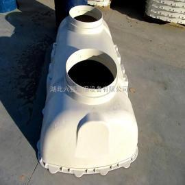 农村改厕三格式化粪池型号多耐腐蚀耐老化寿命长
