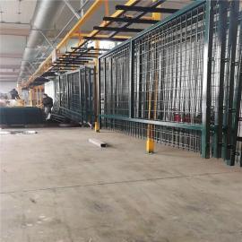 镀锌防护栅栏/浸塑防护栅栏/高铁防护栅栏
