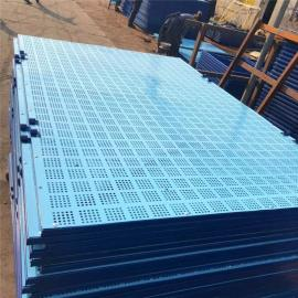 爬架防护网-爬架安全网-钢板网爬架网