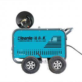 洁乐ST1525ET电动管道疏通机工厂物业小区下水道高压冲洗25L流量