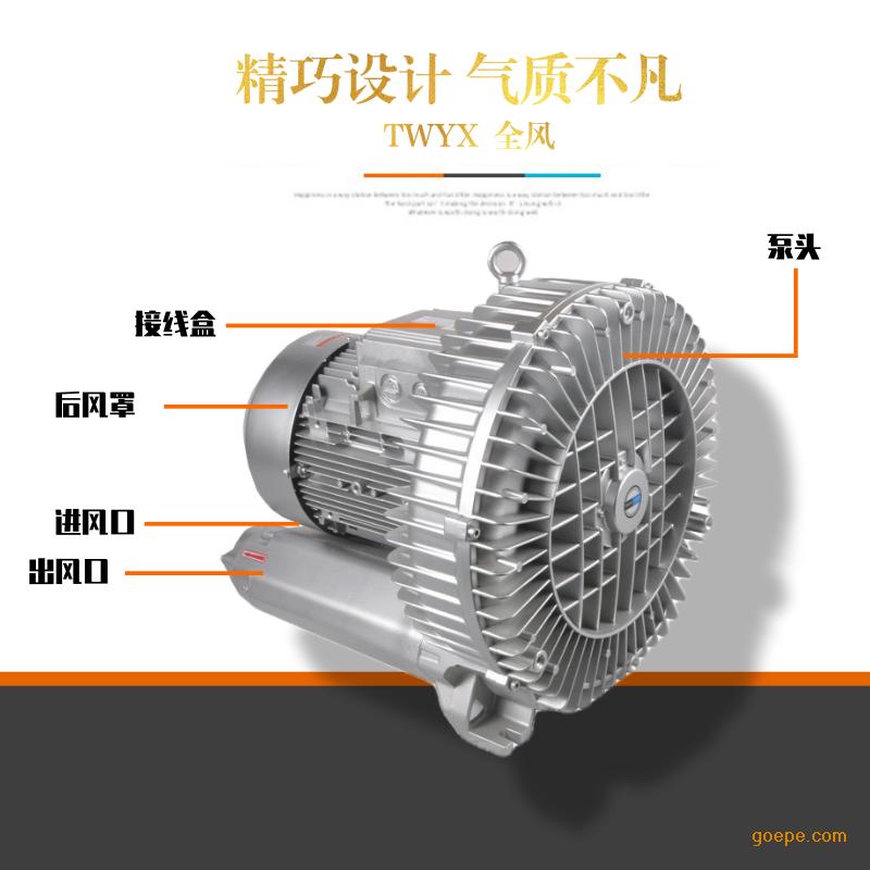 旋涡高压风机 台湾高压风机 广州单段高压风机示例图10
