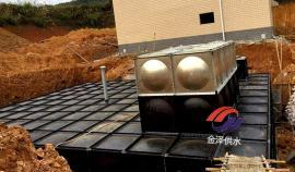 抗浮式地埋箱泵一体化消防增压供水设备