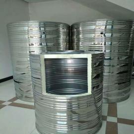 304不锈钢保温水箱 太阳能圆柱形保温水箱