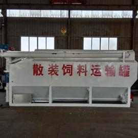 畅销款装散饲料的储运罐 25吨饲料运输罐 配置详解