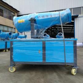 80米雾炮机除尘降湿环保设备 工地建筑降尘喷雾机