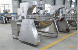辣椒酱炒制夹层锅生产 可倾式夹层锅生产