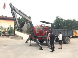 农用小型挖沙运土随车挖 随车挖机
