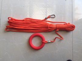水上救生浮索 救生圈绳 漂浮安全绳全套水域安全绳