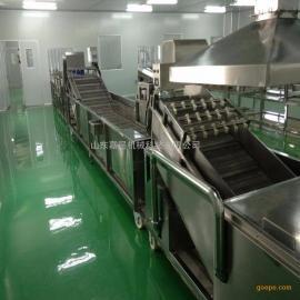 高压气泡蔬菜清洗机 全自动蔬菜清洗机叶菜清洗机洗菜机