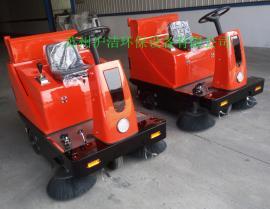 乐普洁双边双刷电动扫地机LP1450洒水吸尘驾驶式全自动扫地车