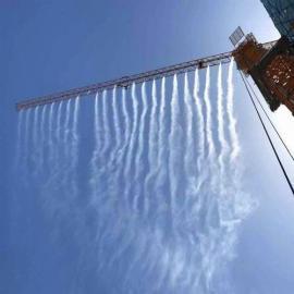 工地塔吊喷淋系统|工地高空喷淋降温降尘设备购买