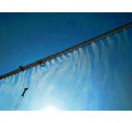 环保塔吊喷淋 喷雾降尘工作效率高 降温降尘首选
