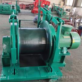 现货矿用JD-1.6调度绞车 25kw防爆型调度提升绞车
