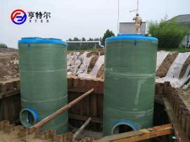 亨特尔一体化污水提升泵站大流量解决污水排放问题