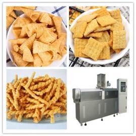 香酥锅巴生产线 粗粮锅巴加工设备 油炸膨化小吃零食生产设备
