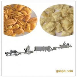 休闲食品膨化机 油炸膨化食品生产设备