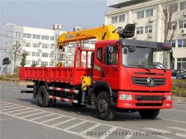 东风单桥8吨随车起重运输车 6.3吨随车吊