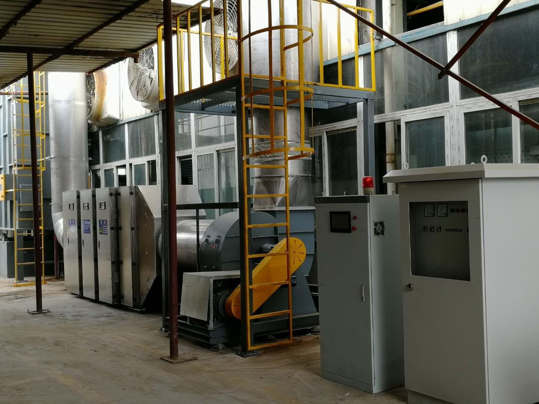 拉幅定型机烘箱高压静电油烟净化器设计方案包环保验收
