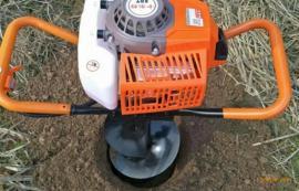 老厂生产刨坑机汽油机地钻种植机,二级齿轮传动打洞机新品热销