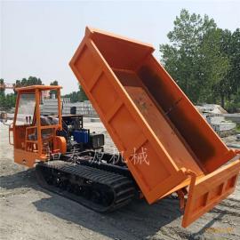 履带四不像运输车5吨 农用拖拉机 拉沙拉土运输车