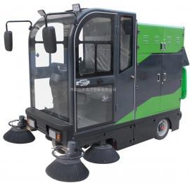 马路驾驶式电动扫地车 市政环卫电动清扫车