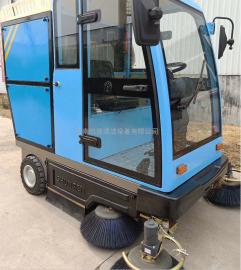 环卫电动扫路车驾驶式电动扫地车小型扫地车电动清扫车